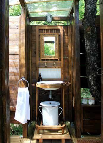 Le Camp — Meru wash basin