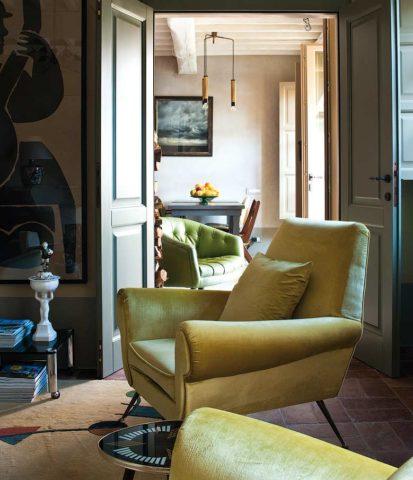 Locanda al Colle — Locanda al Colle living room