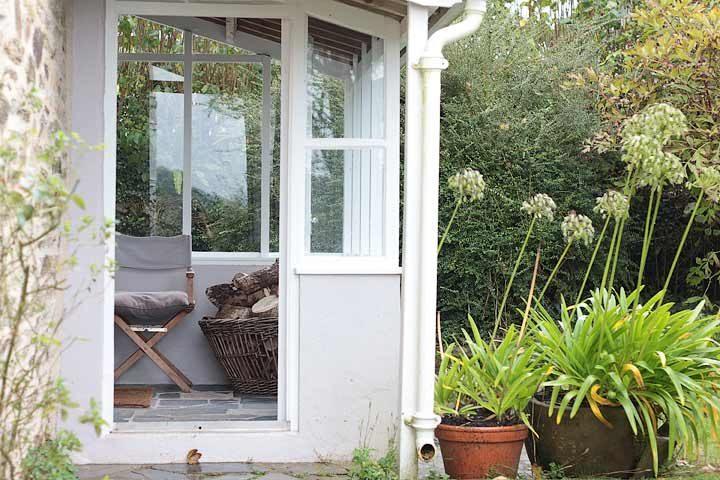 Botelet Cottages — Cowslip cottage porch