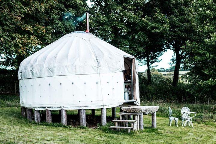Botelet Yurt — Yurt exterior