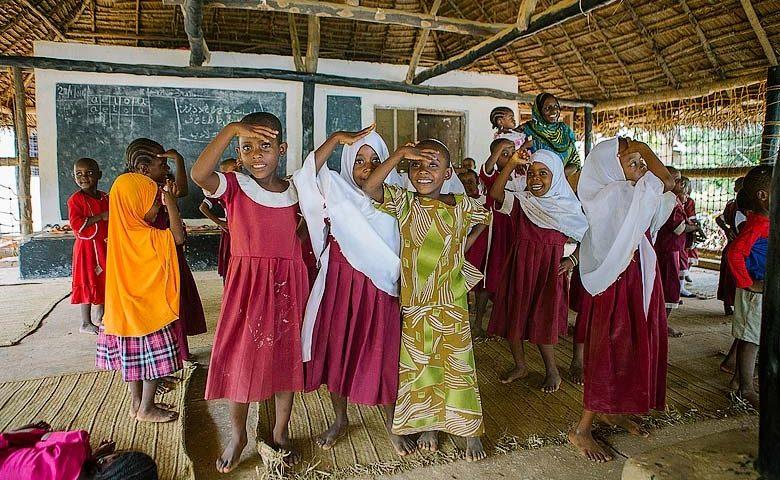 Chole Mjini — Village school