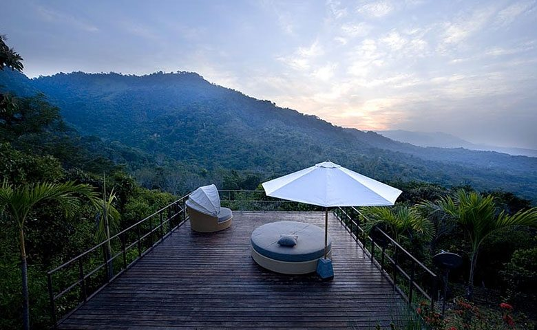 Villa Mayana — View of the rainforest