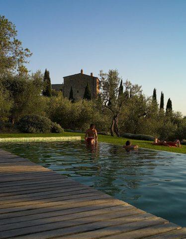 Castello di Vicarello — Pool