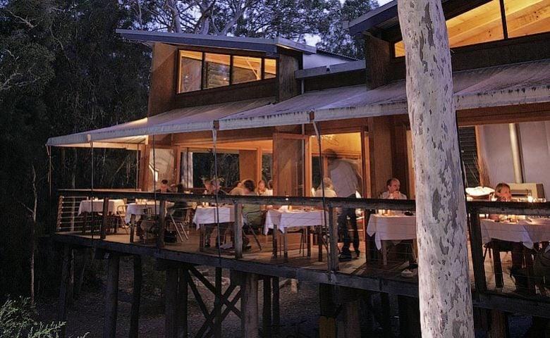 Paperbark Camp — Paperbark Camp dining area