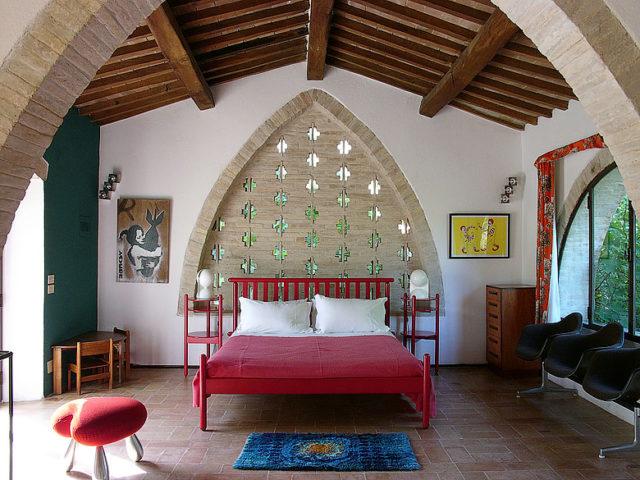 Villa Metato — Sleeping area
