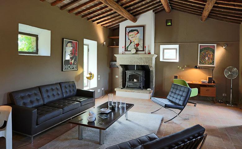 Villa Metato — Living area