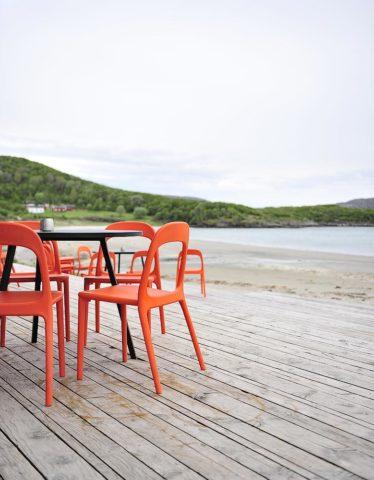 Stokkøya Beach Hotel — Beach at Stokkøya Beach Hotel