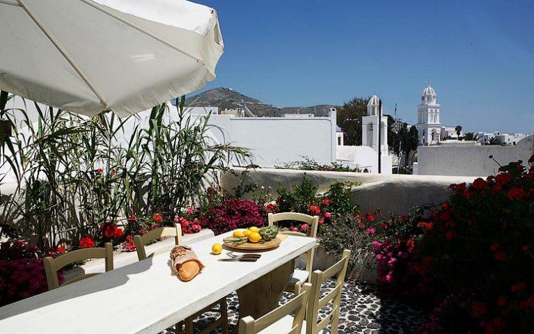 Villa Santorini I — View of Santorini
