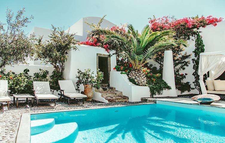 Villa Santorini I — Pool area