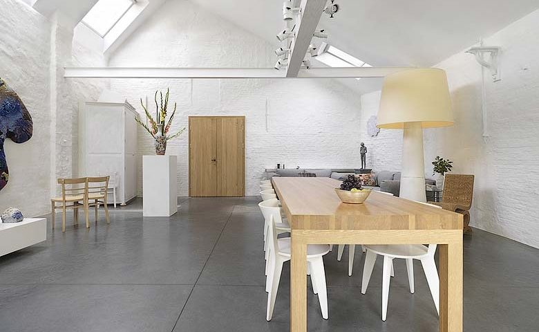Tielrode — Living and dining space