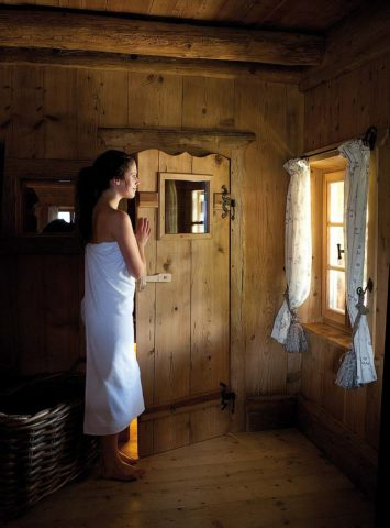 San Lorenzo Mountain Lodge — Sauna