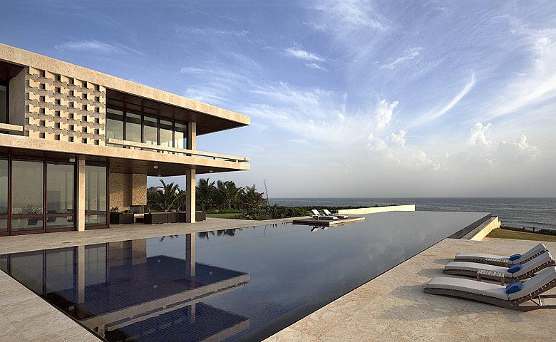 Casa Kimball — Casa Kimball pool area