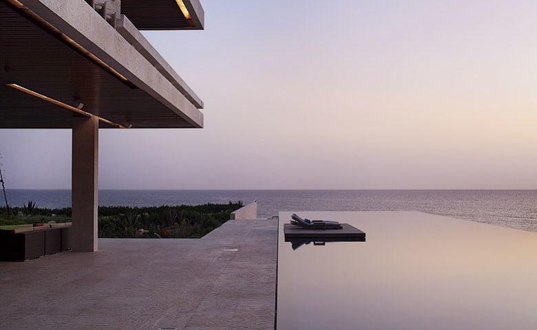 Casa Kimball — Pool at dusk