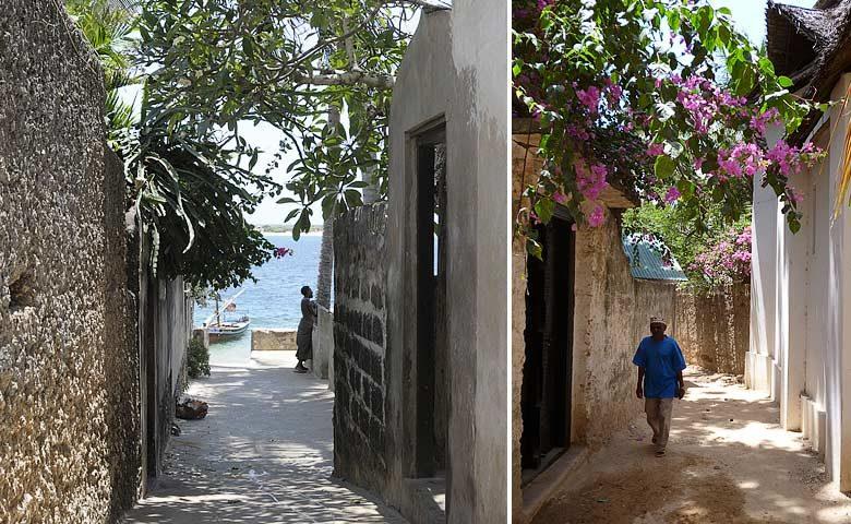 Forodhani House — Shella village streets