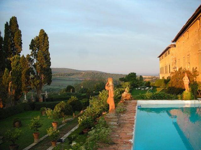 Chianti Villa — Chianti Villa roof pool