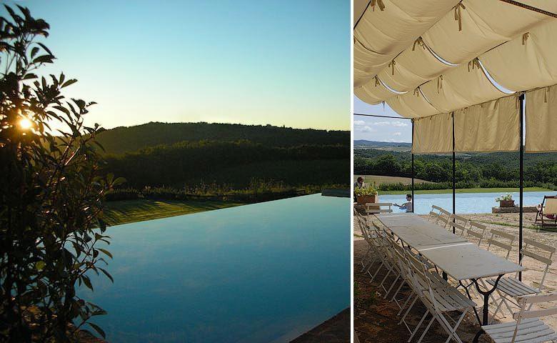 Chianti Villa — Infinity pool
