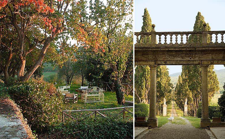 Chianti Villa — Chianti Villa gardens