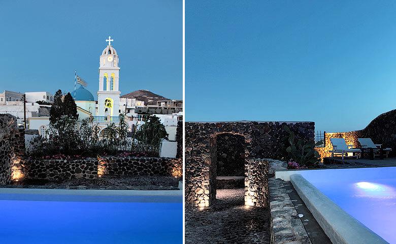Villa Santorini II — Pool area