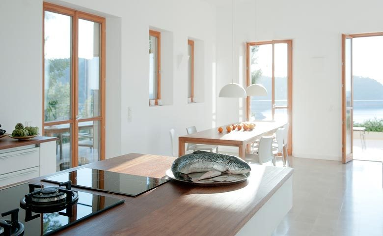 Mallorca Beach House — Dining area