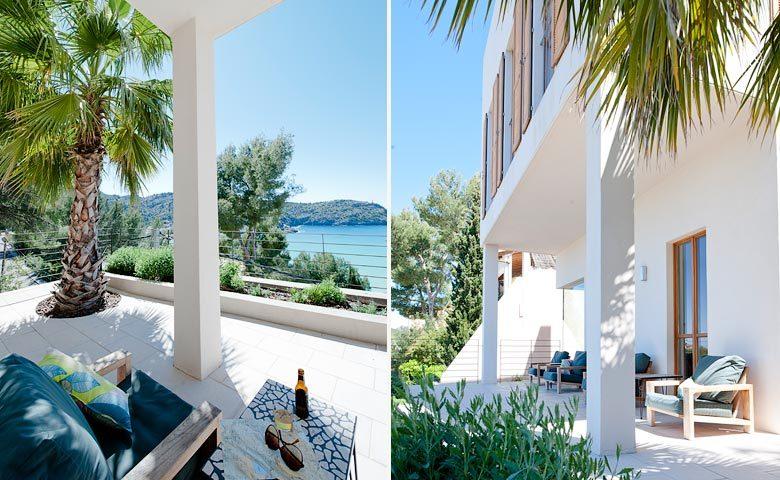 Mallorca Beach House — Terrace and views