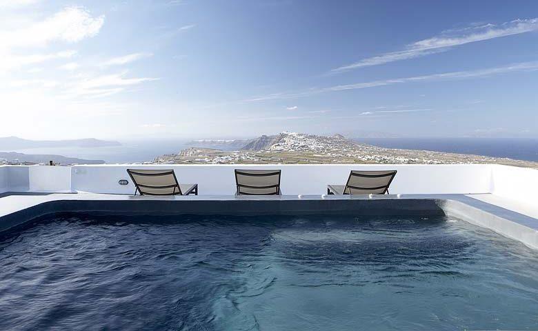 White Villa — Overlooking Santorini