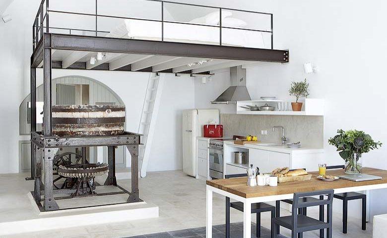 White Villa — Living area