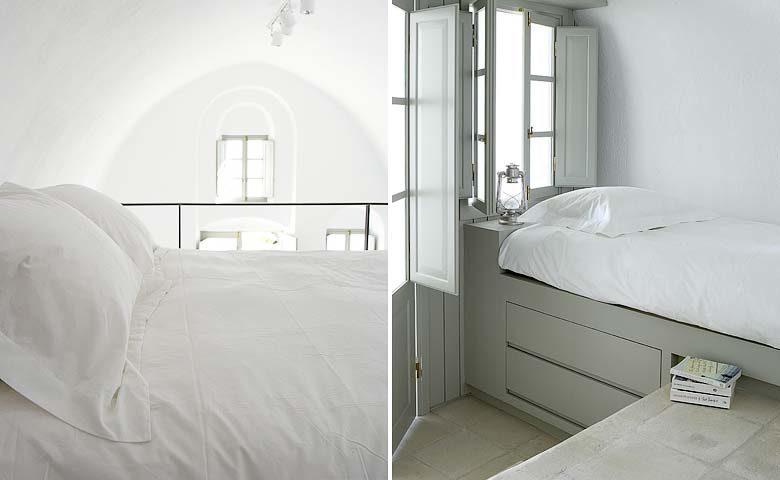 White Villa — Sleeping areas