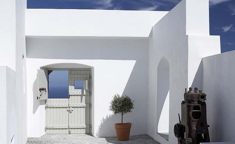 White Villa In Santorini Greece Villa Rentals