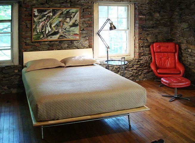 Hudson Valley Mill — Bedroom
