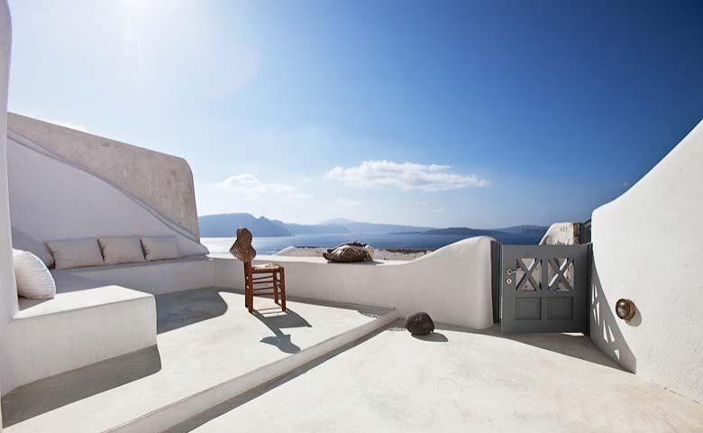 Oia Villa I — View of Santorini