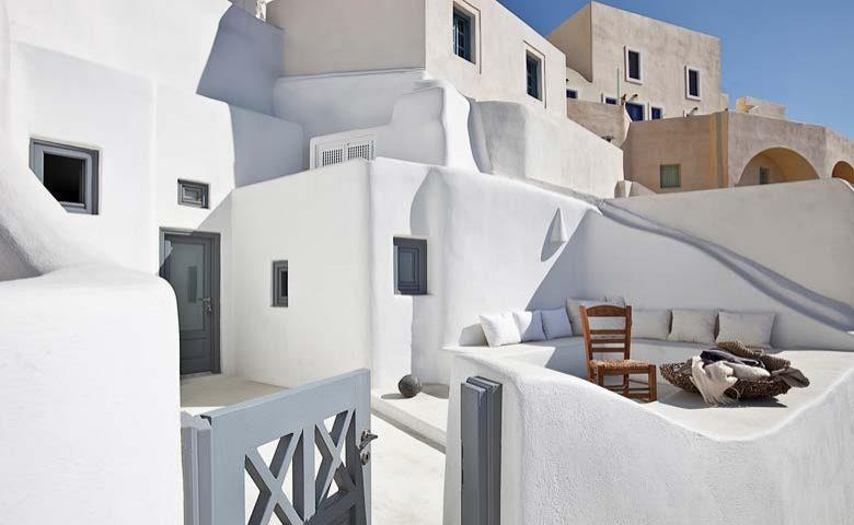 Oia Villa I — Oia Villa I terrace