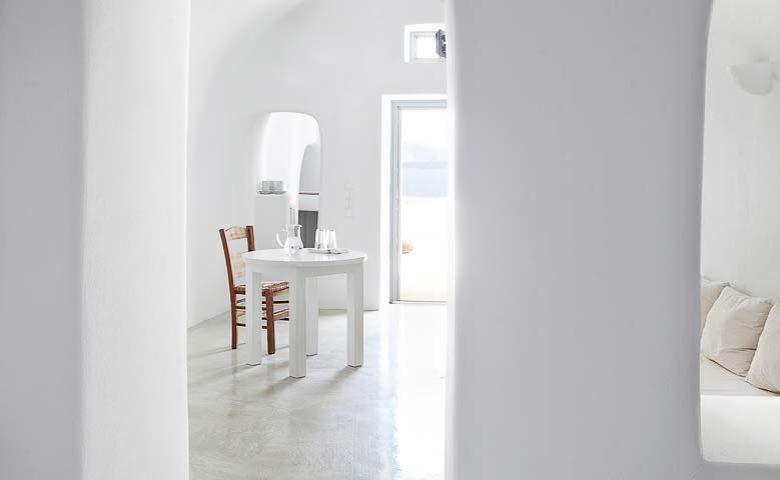 Oia Villa I — Lounge area