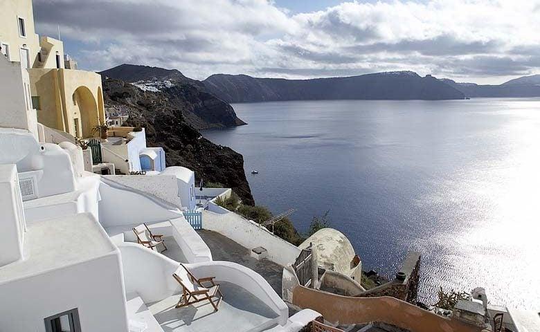 Oia Villa II — View of Santorini