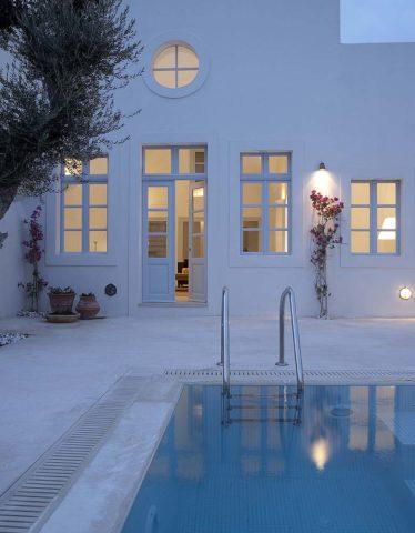 Imerovigli Villa — Imerovigli Villa and pool