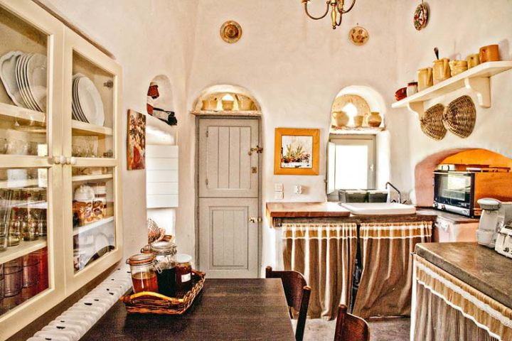 Cyclades Villa — Kitchen