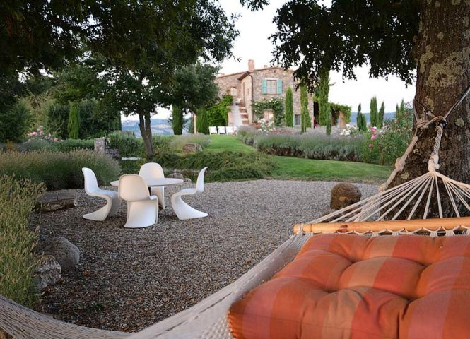 Podere Palazzo — The garden