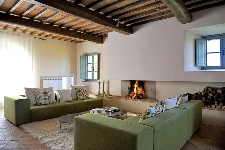 Podere Palazzo — Dining area