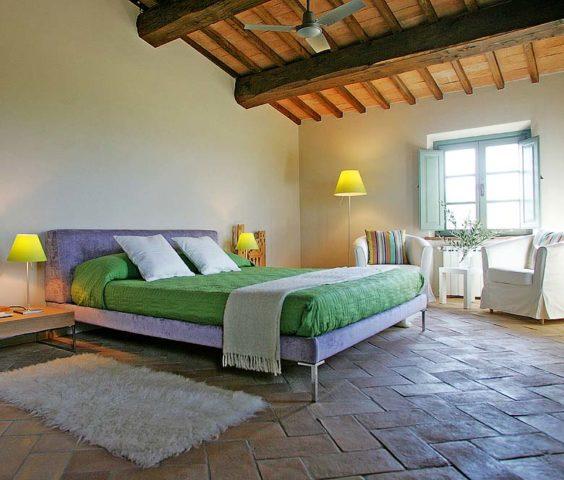 Podere Palazzo — Bedroom