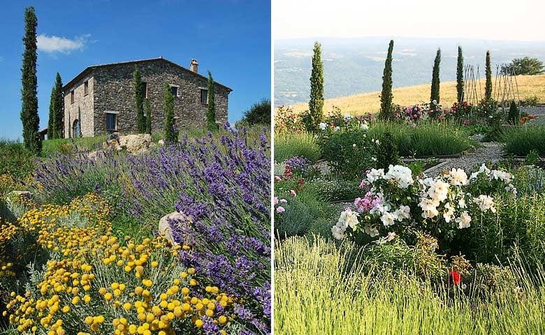 Podere Palazzo — Villa and garden