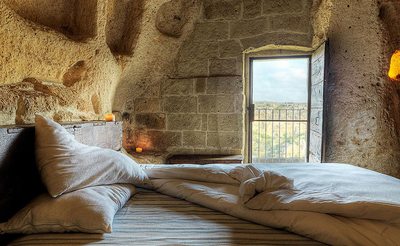 Sextantio Grotte della Civita — Bedroom