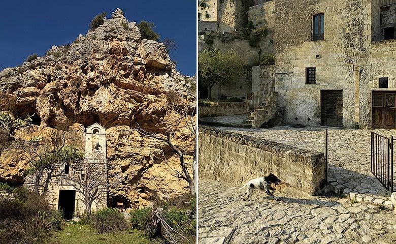 Sextantio Grotte della Civita — Caves exterior