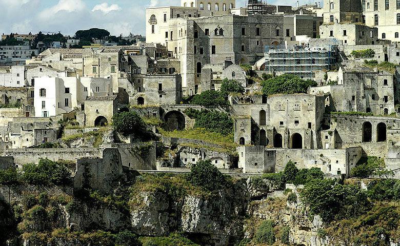 Sextantio Grotte della Civita — Matera village
