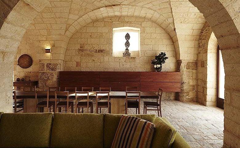 Villa Pizzorusso — Dining area