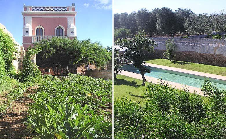 Villa Pizzorusso — Villa and pool