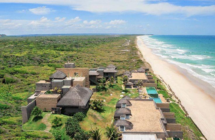 Kenoa Beach Spa & Resort — Aerial view of Kenoa