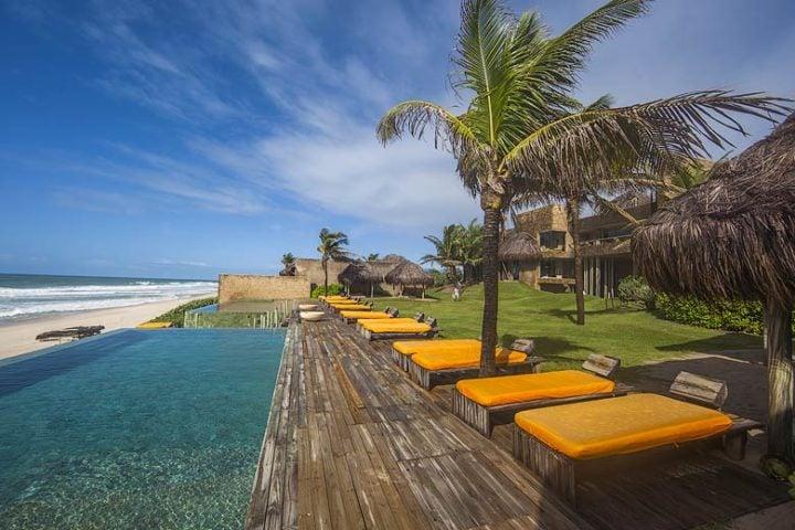Kenoa Beach Spa & Resort — Pool & beach