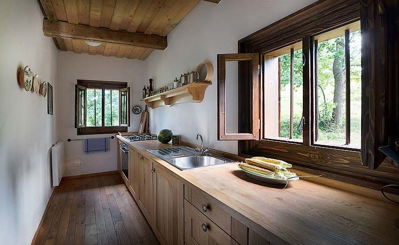 Palaga Lodge — Kitchen