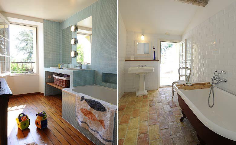 Ferme du Vigneron — En-suite bathrooms