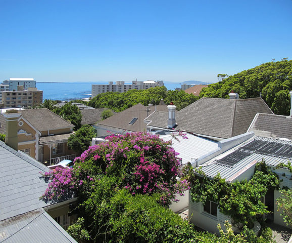 Blackheath Lodge — View of the Cape Town seafront