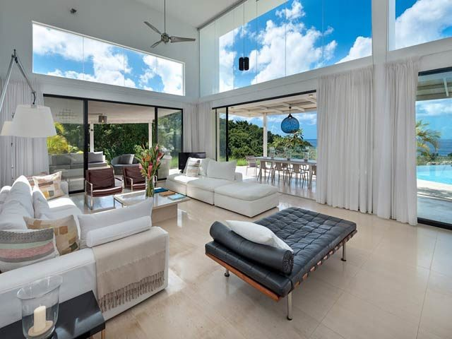 Atelier House — Living area